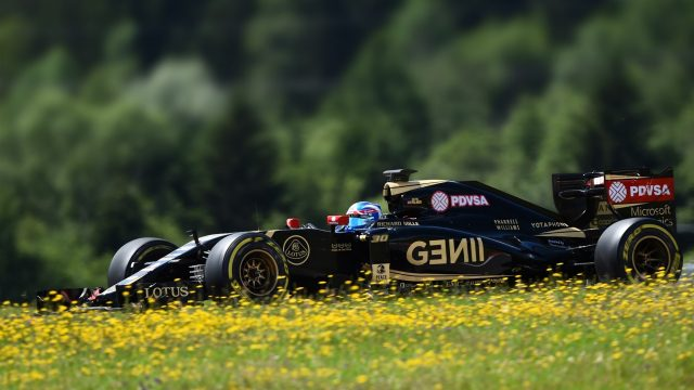 Jolyon Palmer (GBR) Lotus E23 Hybrid at Formula One Testing, Day Two, Spielberg, Austria, Wednesday 24 June 2015. &copy&#x3b; Sutton Motorsport Images