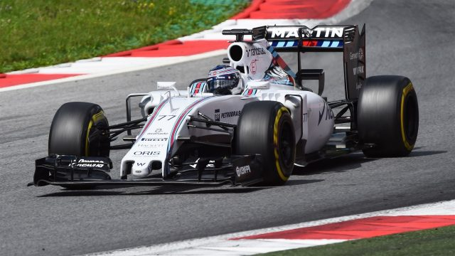 Valtteri Bottas (FIN) Williams FW37 at Formula One Testing, Day Two, Spielberg, Austria, Wednesday 24 June 2015. &copy&#x3b; Sutton Motorsport Images