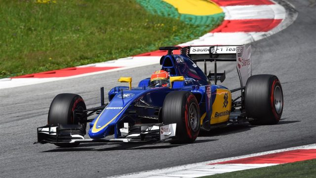 Felipe Nasr (BRA) Sauber C34 at Formula One Testing, Day Two, Spielberg, Austria, Wednesday 24 June 2015. &copy&#x3b; Sutton Motorsport Images