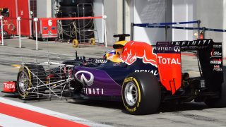 In pictures - Wednesday's post-race testing in Austria