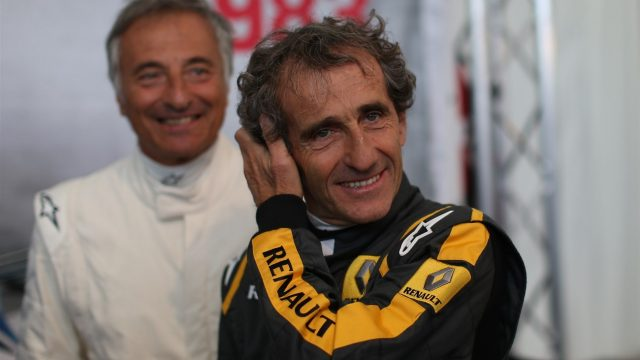Alain Prost (FRA) at the Legends Parade at Formula One World Championship, Rd8, Austrian Grand Prix, Qualifying, Spielberg, Austria, Saturday 20 June 2015. &copy&#x3b; Sutton Motorsport Images