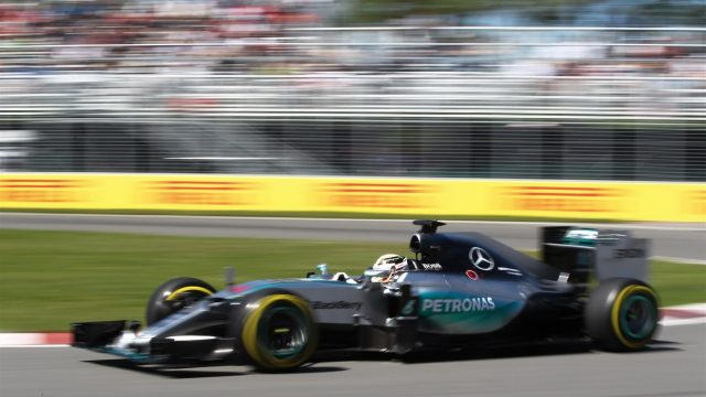 Lewis Hamilton (GBR) Mercedes AMG F1 W06 at Formula One World Championship, Rd7, Canadian Grand Prix, Qualifying, Montreal, Canada, Saturday 6 June 2015. &copy&#x3b; Sutton Motorsport Images