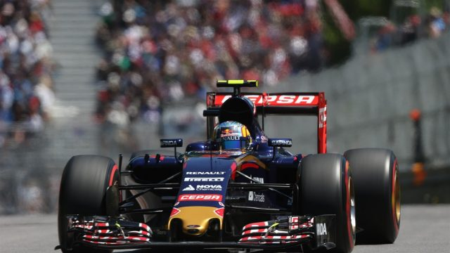 Carlos Sainz jr (ESP) Scuderia Toro Rosso STR10 at Formula One World Championship, Rd7, Canadian Grand Prix, Qualifying, Montreal, Canada, Saturday 6 June 2015. &copy&#x3b; Sutton Motorsport Images