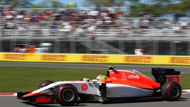 Roberto Merhi (ESP) Manor GP at Formula One World Championship, Rd7, Canadian Grand Prix, Qualifying, Montreal, Canada, Saturday 6 June 2015. &copy&#x3b; Sutton Motorsport Images