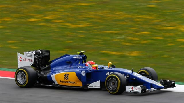 Felipe Nasr (BRA) Sauber C34 at Formula One World Championship, Rd8, Austrian Grand Prix, Qualifying, Spielberg, Austria, Saturday 20 June 2015. &copy&#x3b; Sutton Motorsport Images