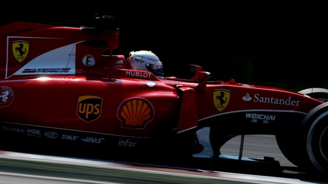 Sebastian Vettel (GER) Ferrari SF15-T at Formula One World Championship, Rd10, Hungarian Grand Prix, Practice, Hungaroring, Hungary, Friday 24 July 2015. &copy&#x3b; Sutton Motorsport Images