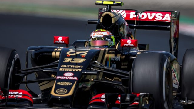 Pastor Maldonado (VEN) Lotus E23 Hybrid at Formula One World Championship, Rd10, Hungarian Grand Prix, Practice, Hungaroring, Hungary, Friday 24 July 2015. &copy&#x3b; Sutton Motorsport Images