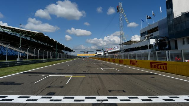 Track view. Formula One World Championship, Rd11, Hungarian Grand Prix, Preparations, Hungaroring, Hungary. Thursday 24 July 2014. &copy&#x3b; Sutton Motorsport Images