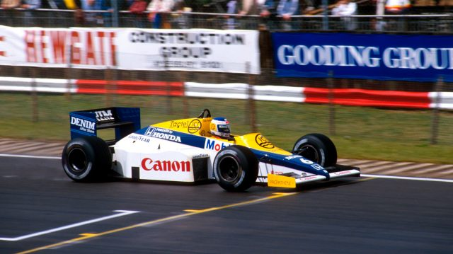 Keke Rosberg (Williams FW10 Honda) who's pole position time was the fastest ever qualifying lap. World Copyright - LAT Photographic