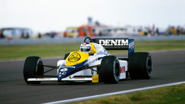 Keke Rosberg's Honda engine was capable of producing more than 1,000 horsepower in qualifying trim.