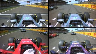 Mixed fortunes - onboard during a pulsating first lap in Hungary