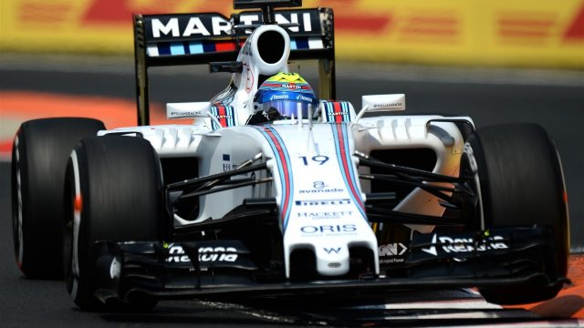 Felipe Massa (BRA) Williams FW37 at Formula One World Championship, Rd10, Hungarian Grand Prix, Qualifying, Hungaroring, Hungary, Saturday 25 July 2015. &copy&#x3b; Sutton Motorsport Images
