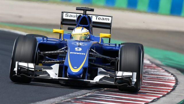 Marcus Ericsson (SWE) Sauber C34 at Formula One World Championship, Rd10, Hungarian Grand Prix, Qualifying, Hungaroring, Hungary, Saturday 25 July 2015. &copy&#x3b; Sutton Motorsport Images