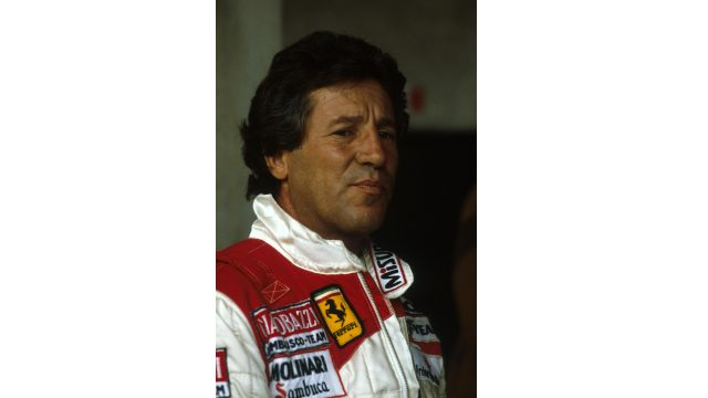 Mario Andretti was 42 years old when he drove for Ferrari at the 1982 Italian Grand Prix at Monza. &copy&#x3b; Sutton Motorsport Images