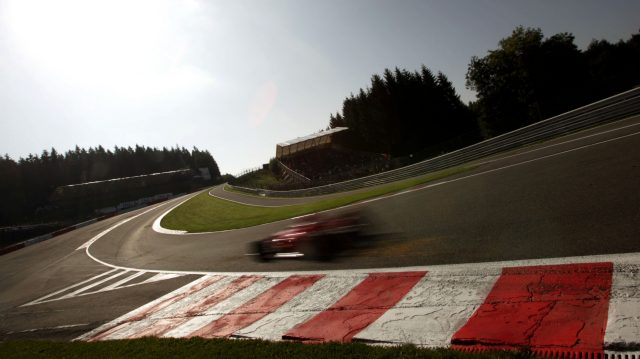 Kimi Raikkonen (Ferrari F2007) tackles Eau Rouge at great speed. 2007 Belgian Grand Prix. &copy&#x3b; Sutton Motorsport Images