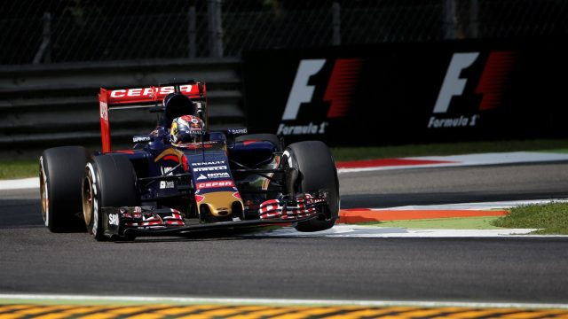 Max Verstappen (NDL) Scuderia Toro Rosso STR10 at Formula One World Championship, Rd12, Italian Grand Prix, Practice, Monza, Italy, Friday 4  September 2015. &copy&#x3b; Sutton Motorsport Images