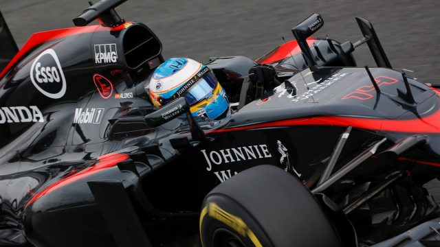 Fernando Alonso (ESP) McLaren MP4-30 at Formula One World Championship, Rd12, Italian Grand Prix, Practice, Monza, Italy, Friday 4  September 2015. &copy&#x3b; Sutton Motorsport Images