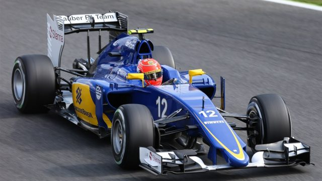 Felipe Nasr (BRA) Sauber C34 at Formula One World Championship, Rd12, Italian Grand Prix, Practice, Monza, Italy, Friday 4  September 2015. &copy&#x3b; Sutton Motorsport Images