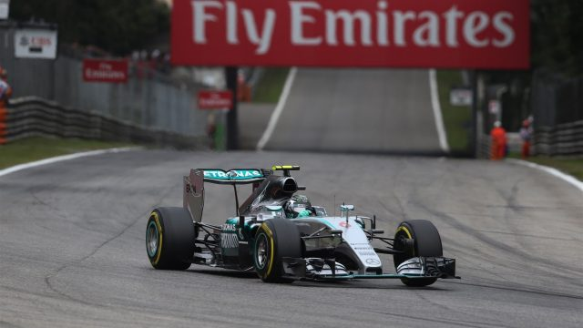 Nico Rosberg (GER) Mercedes AMG F1 W06 at Formula One World Championship, Rd12, Italian Grand Prix, Practice, Monza, Italy, Friday 4  September 2015. &copy&#x3b; Sutton Motorsport Images