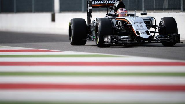Nico Hulkenberg (GER) Force India VJM08 at Formula One World Championship, Rd12, Italian Grand Prix, Practice, Monza, Italy, Friday 4  September 2015. &copy&#x3b; Sutton Motorsport Images