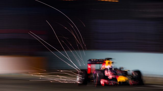 Daniel Ricciardo (AUS) Red Bull Racing RB11 at Formula One World Championship, Rd13, Singapore Grand Prix, Practice, Marina Bay Street Circuit, Singapore, Friday 18 September 2015. &copy&#x3b; Sutton Motorsport Images