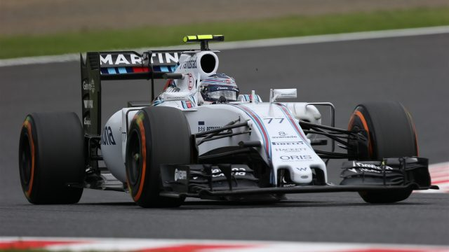 Valtteri Bottas (FIN) Williams FW37 at Formula One World Championship, Rd14, Japanese Grand Prix, Qualifying, Suzuka, Japan, Saturday 26 September 2015. &copy&#x3b; Sutton Motorsport Images