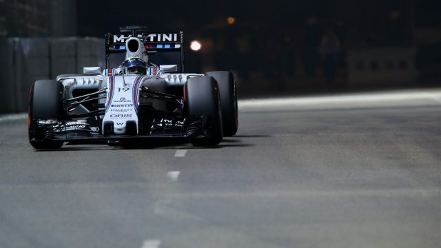 Felipe Massa (BRA) Williams FW37 at Formula One World Championship, Rd13, Singapore Grand Prix, Qualifying, Marina Bay Street Circuit, Singapore, Saturday 19  September 2015. &copy&#x3b; Sutton Motorsport Images