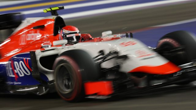 Alexander Rossi (USA) Marussia at Formula One World Championship, Rd13, Singapore Grand Prix, Qualifying, Marina Bay Street Circuit, Singapore, Saturday 19  September 2015. &copy&#x3b; Sutton Motorsport Images