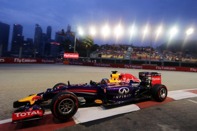 Formula One World Championship, Rd14, Singapore Grand Prix, Marina Bay Street Circuit, Singapore, Qualifying, Saturday 20 September 2014. &copy&#x3b; Sutton Motorsport Images