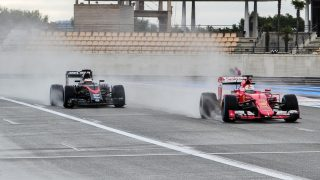 In pictures - Pirelli wet-tyre test at Paul Ricard