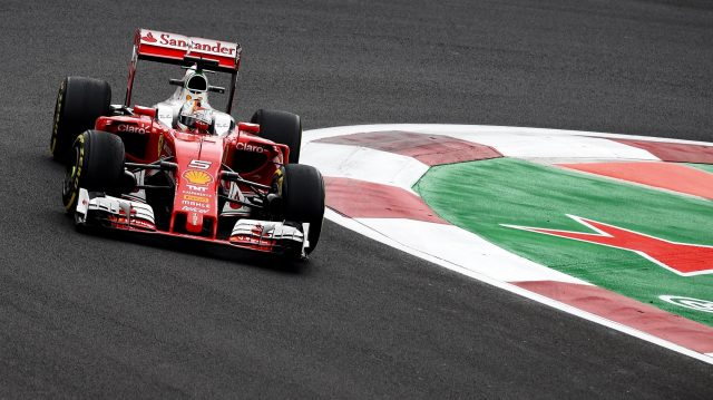 Sebastian Vettel (GER) Ferrari SF16-H at Formula One World Championship, Rd19, Mexican Grand Prix, Practice, Circuit Hermanos Rodriguez, Mexico City, Mexico, Friday 28 October 2016. © Sutton Images