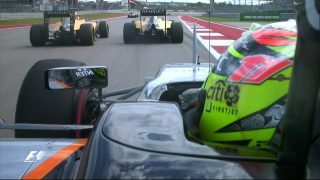 WATCH: Unseen angles and incidents - the best onboard action from Austin