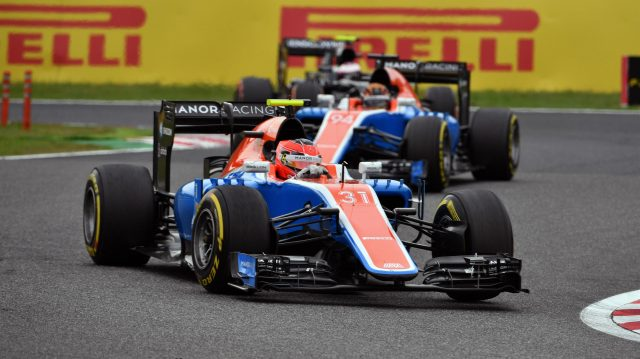 Esteban Ocon (FRA) Manor Racing MRT05 at Formula One World Championship, Rd17, Japanese Grand Prix, Race, Suzuka, Japan, Sunday 9 October 2016. &copy&#x3b; Sutton Images
