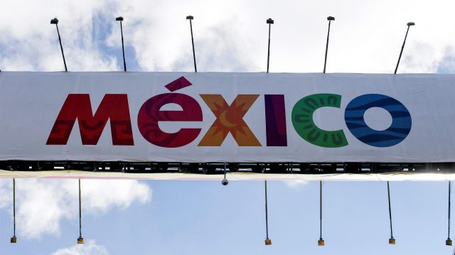 Mexico Signage Banner at Formula One World Championship, Rd19, Mexican Grand Prix, Preparations, Circuit Hermanos Rodriguez, Mexico City, Mexico, Thursday 27 October 2016. &copy&#x3b; Sutton Images