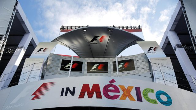 Podium at Formula One World Championship, Rd19, Mexican Grand Prix, Preparations, Circuit Hermanos Rodriguez, Mexico City, Mexico, Thursday 27 October 2016. &copy&#x3b; Sutton Images