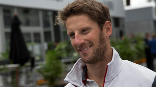 Romain Grosjean (FRA) Haas F1 at Formula One World Championship, Rd19, Mexican Grand Prix, Preparations, Circuit Hermanos Rodriguez, Mexico City, Mexico, Thursday 27 October 2016. &copy&#x3b; Sutton Images