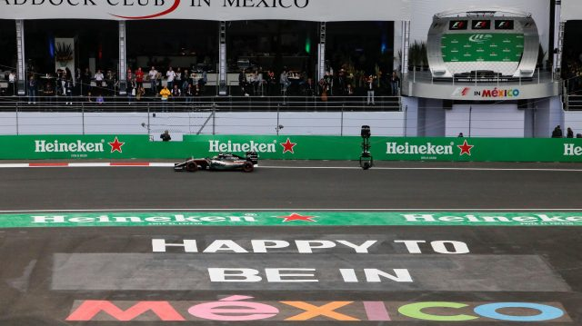 Sergio Perez (MEX) Force India VJM09 at Formula One World Championship, Rd19, Mexican Grand Prix, Practice, Circuit Hermanos Rodriguez, Mexico City, Mexico, Friday 28 October 2016. &copy&#x3b; Sutton Images