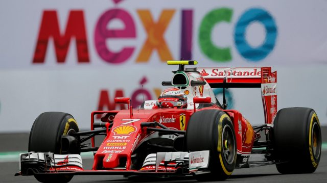 Kimi Raikkonen (FIN) Ferrari SF16-H at Formula One World Championship, Rd19, Mexican Grand Prix, Practice, Circuit Hermanos Rodriguez, Mexico City, Mexico, Friday 28 October 2016. &copy&#x3b; Sutton Images