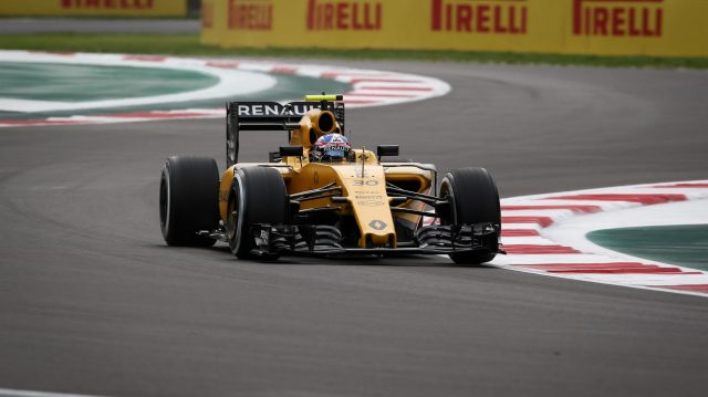 Jolyon Palmer (GBR) Renault Sport F1 Team RS16 at Formula One World Championship, Rd19, Mexican Grand Prix, Practice, Circuit Hermanos Rodriguez, Mexico City, Mexico, Friday 28 October 2016. &copy&#x3b; Sutton Images