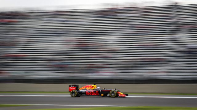 Daniel Ricciardo (AUS) Red Bull Racing RB12 at Formula One World Championship, Rd19, Mexican Grand Prix, Practice, Circuit Hermanos Rodriguez, Mexico City, Mexico, Friday 28 October 2016. &copy&#x3b; Sutton Images