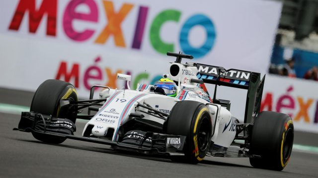 Felipe Massa (BRA) Williams FW38 at Formula One World Championship, Rd19, Mexican Grand Prix, Practice, Circuit Hermanos Rodriguez, Mexico City, Mexico, Friday 28 October 2016. &copy&#x3b; Sutton Images