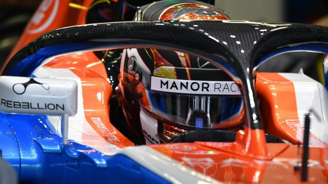 Manor Racing MRT05 with halo at Formula One World Championship, Rd19, Mexican Grand Prix, Practice, Circuit Hermanos Rodriguez, Mexico City, Mexico, Friday 28 October 2016. &copy&#x3b; Sutton Images
