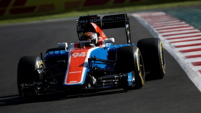 Pascal Wehrlein (GER) Manor Racing MRT05 at Formula One World Championship, Rd19, Mexican Grand Prix, Qualifying, Circuit Hermanos Rodriguez, Mexico City, Mexico, Saturday 29 October 2016. &copy&#x3b; Sutton Images
