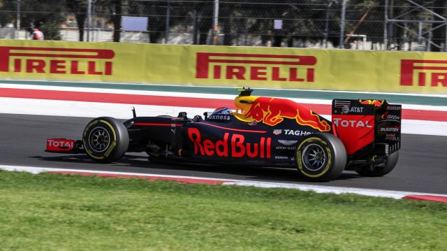 Max Verstappen (NED) Red Bull Racing RB12 at Formula One World Championship, Rd19, Mexican Grand Prix, Qualifying, Circuit Hermanos Rodriguez, Mexico City, Mexico, Saturday 29 October 2016. &copy&#x3b; Sutton Images