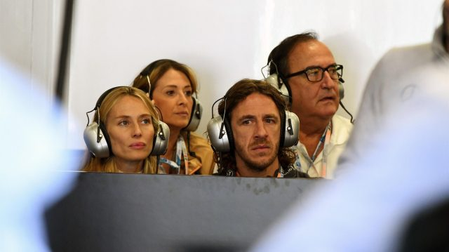 Carlos Puyol (ESP) at Formula One World Championship, Rd19, Mexican Grand Prix, Qualifying, Circuit Hermanos Rodriguez, Mexico City, Mexico, Saturday 29 October 2016. &copy&#x3b; Sutton Images