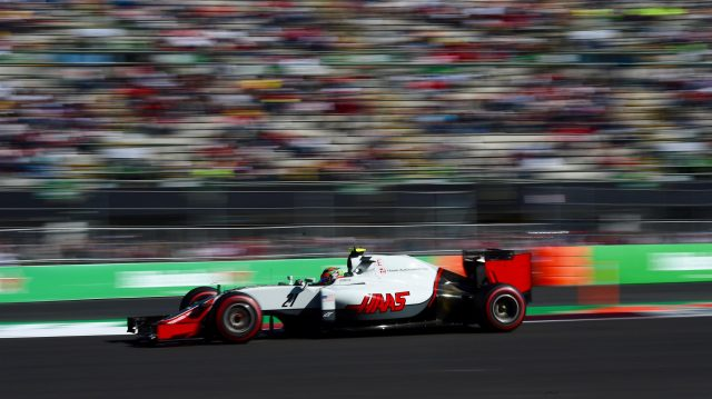 Esteban Gutierrez (MEX) Haas VF-16 at Formula One World Championship, Rd19, Mexican Grand Prix, Qualifying, Circuit Hermanos Rodriguez, Mexico City, Mexico, Saturday 29 October 2016. &copy&#x3b; Sutton Images