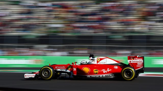 Sebastian Vettel (GER) Ferrari SF16-H at Formula One World Championship, Rd19, Mexican Grand Prix, Qualifying, Circuit Hermanos Rodriguez, Mexico City, Mexico, Saturday 29 October 2016. &copy&#x3b; Sutton Images