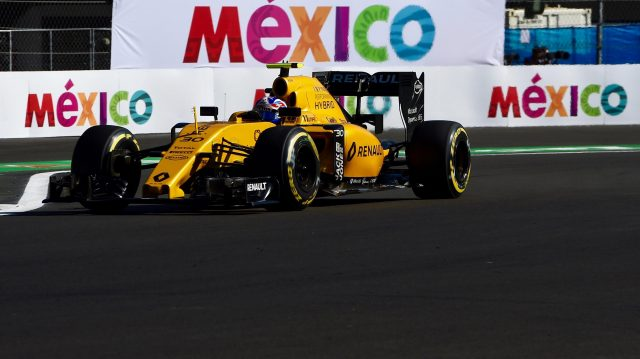 Jolyon Palmer (GBR) Renault Sport F1 Team RS16 at Formula One World Championship, Rd19, Mexican Grand Prix, Qualifying, Circuit Hermanos Rodriguez, Mexico City, Mexico, Saturday 29 October 2016. &copy&#x3b; Sutton Images