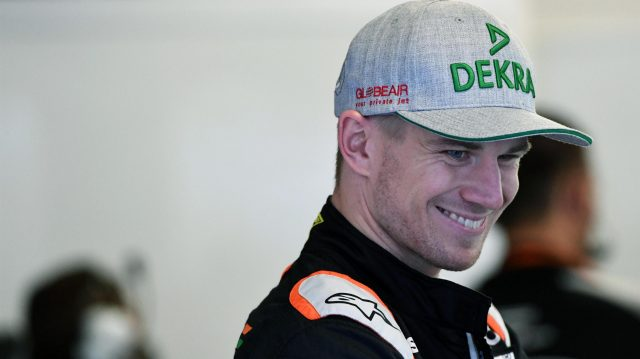 Nico Hulkenberg (GER) Force India F1 at Formula One World Championship, Rd19, Mexican Grand Prix, Qualifying, Circuit Hermanos Rodriguez, Mexico City, Mexico, Saturday 29 October 2016. &copy&#x3b; Sutton Images