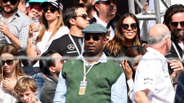 Lennox Lewis (GBR) at Formula One World Championship, Rd19, Mexican Grand Prix, Race, Circuit Hermanos Rodriguez, Mexico City, Mexico, Sunday 30 October 2016. &copy&#x3b; Sutton Images
